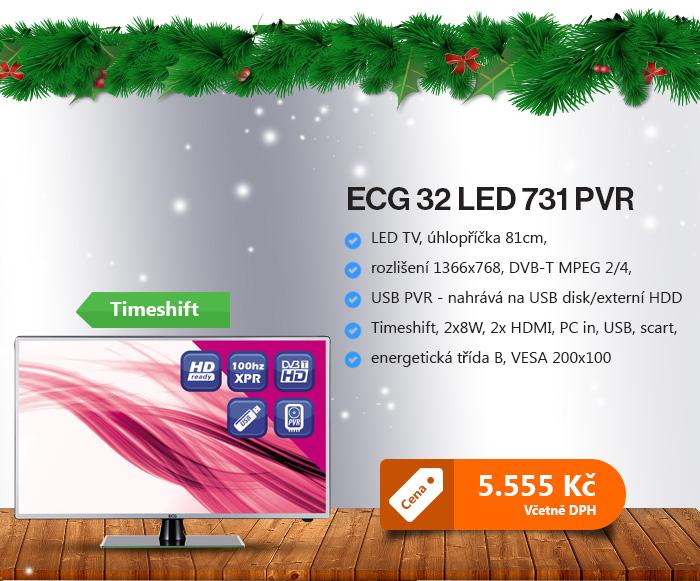 ECG 32 LED 731 PVR