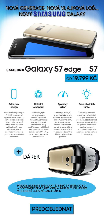 Samsung Galaxy S7 a Galaxy S7 edge